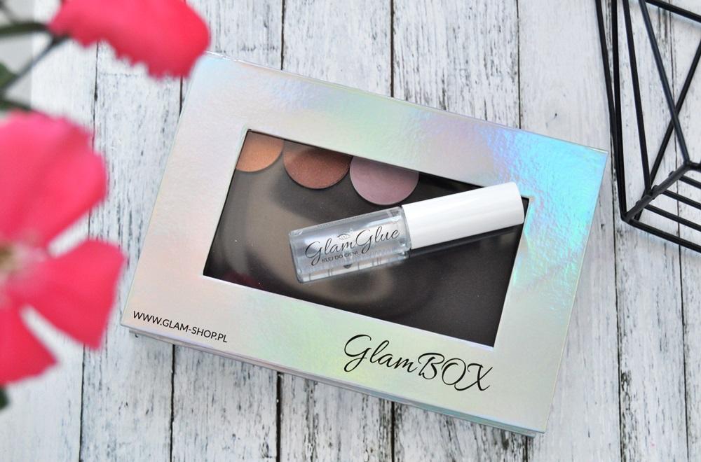 Zakupy GlamShop {nowe trzy cienie GlamShadows}, a także jak rozmieściłam cienie w nowej palecie dwustronnej GlamBox