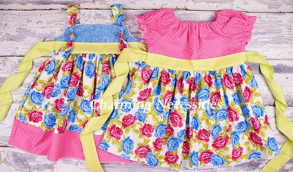 Sister Easter Dresses