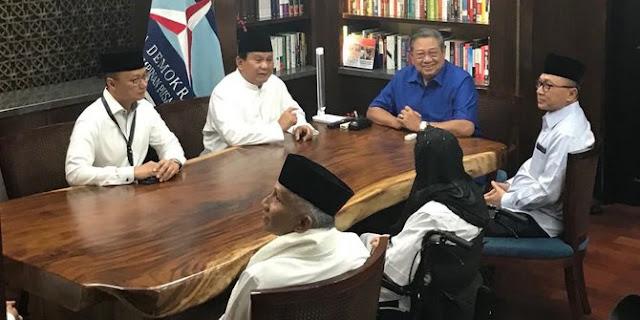 SBY Jadi Ketua Tim Pemenangan Prabowo-Sandi ?