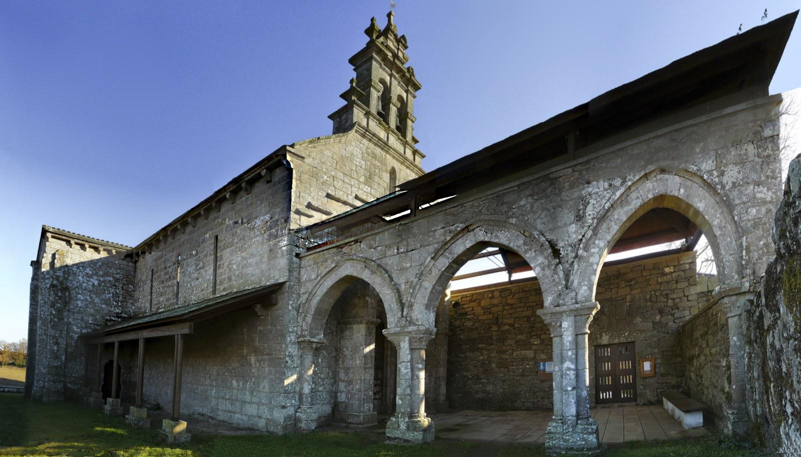 Iglesía de San Salvador de Vilar de Donas. Photo: © Soul aka Alma (CC).
