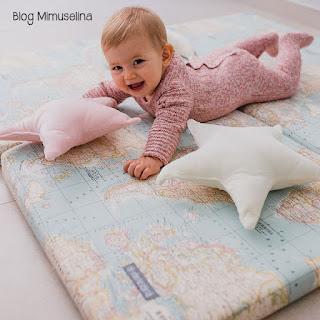 colchoneta suelo juego mapa niños fomento gateo blog mimuselina
