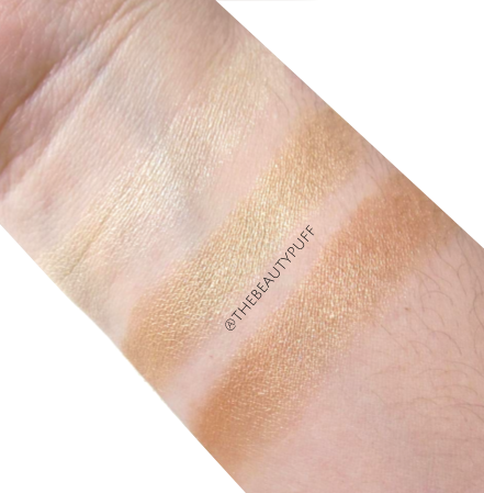 japonesque highlighter swatches - the beauty puff