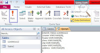 how to create table from sql queries in ms access in hindi , commands used in SQL , create table