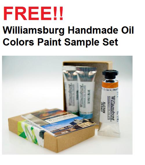 Williamsburg Handmade Oil Colors Paint Sample Set