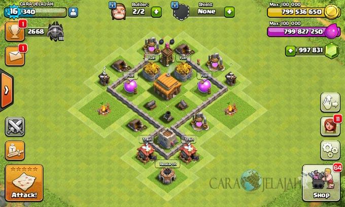 Desain Base Town Hall 3 Terbaik Dan Terbaru Clash Of Clans 34