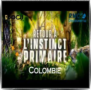 retour l 39 instinct primaire saison 1 episode 1 colombie marie et olivier rmc d couverte. Black Bedroom Furniture Sets. Home Design Ideas