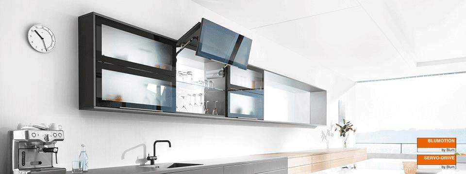 Pintu Lemari Kitchen Set Otomatis Desain Rumah