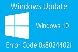Windows Update Error 0x8024402f