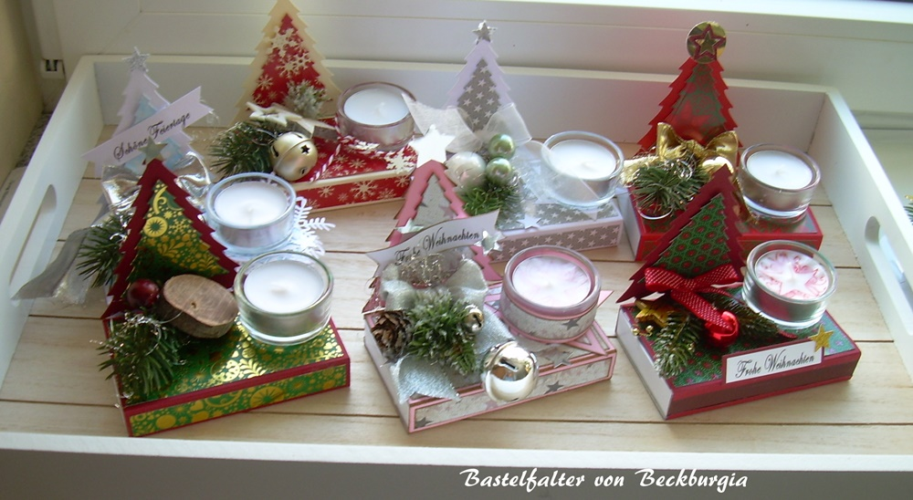 Bastelfalter von Beckburgia: Weihnachten / Mitbringsel / Goodies ...