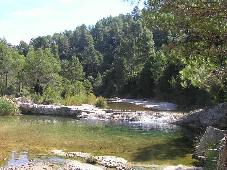 Río Ulldemó piscinas naturales