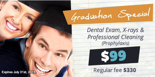 Just graduated in Pasadena? Check our Dental Special!
