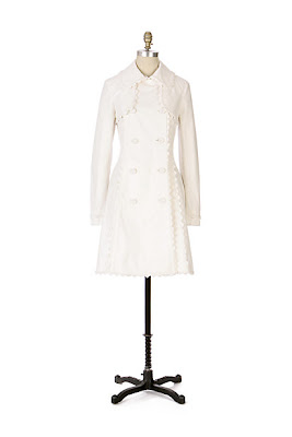 Anthropologie Rusted Anchor Trench by Twill 22
