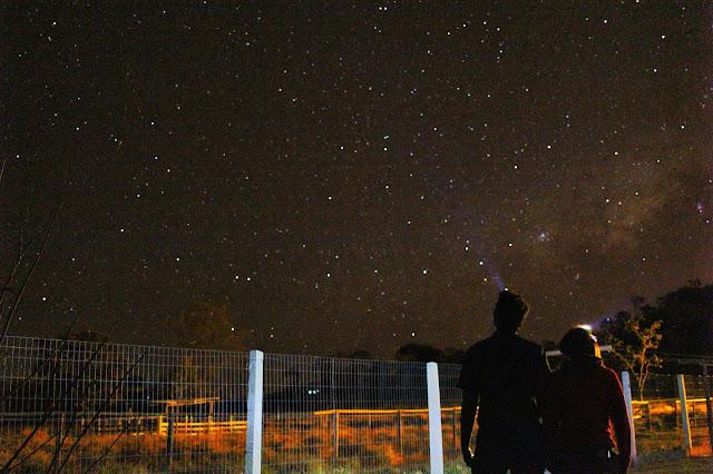 Céu estrelado em Alto Paraíso de Goiás.