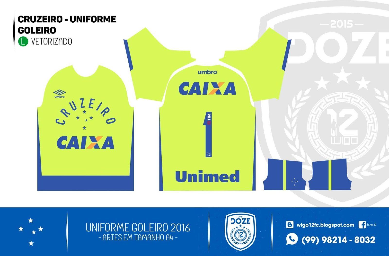 643a9e574d Fontes Camisas de Futebol  Uniforme Cruzeiro 2016