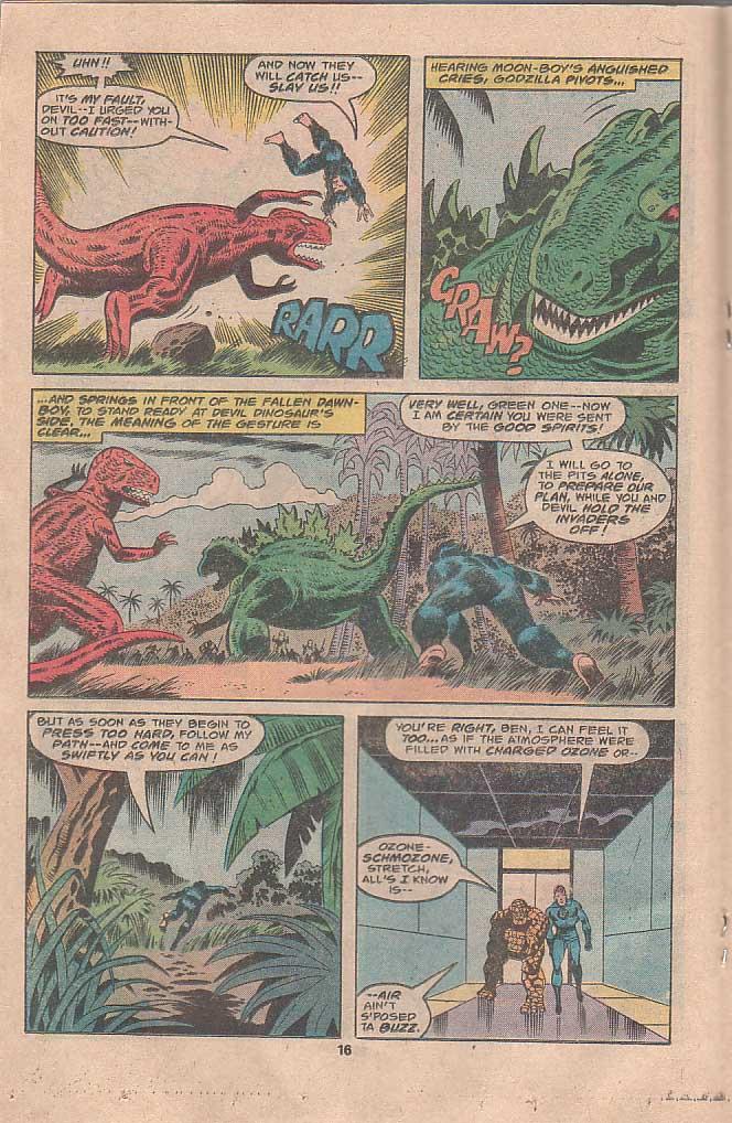 Godzilla (1977) Issue #22 #22 - English 10