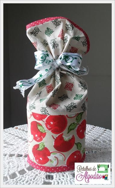 Cobre panetone de patchwork para valorizar a sua mesa no Natal