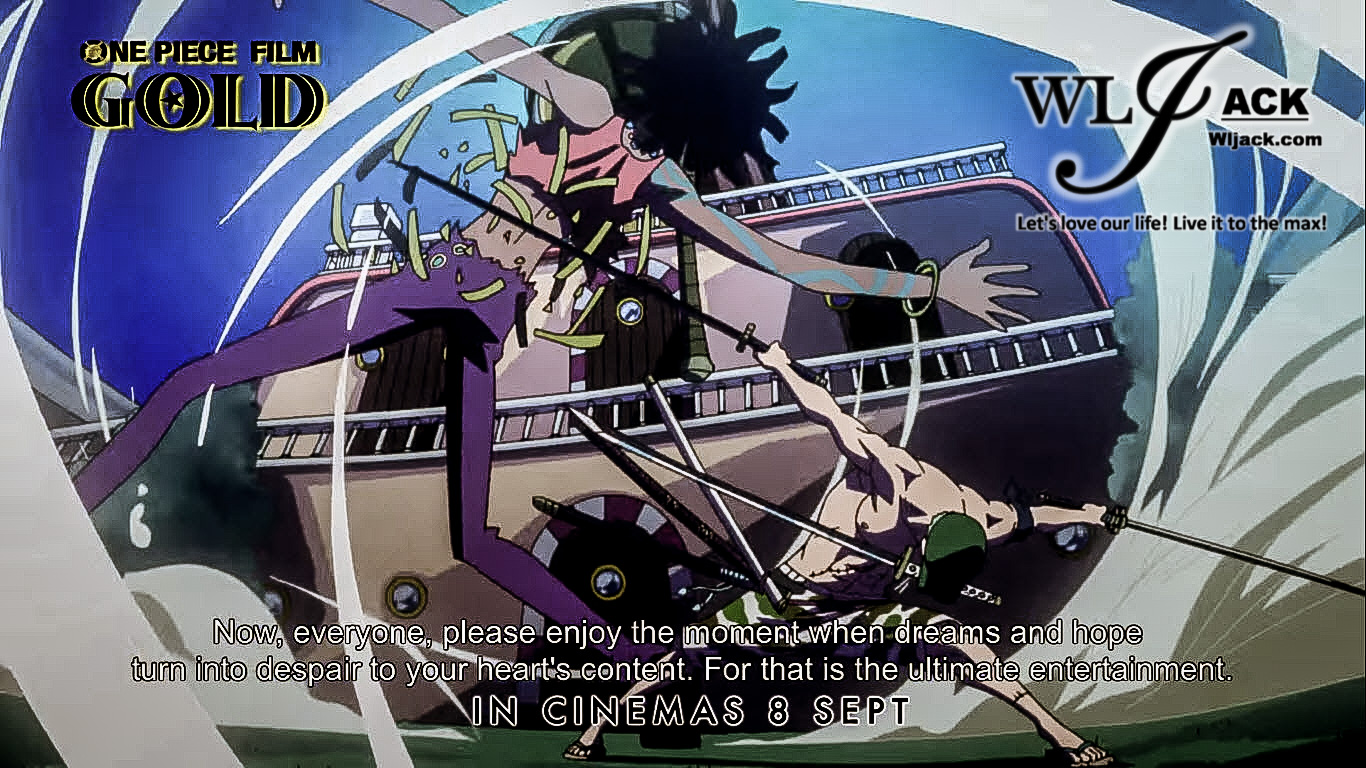 Movie Review] One Piece Film Gold - WLJack com 华龙分享网站