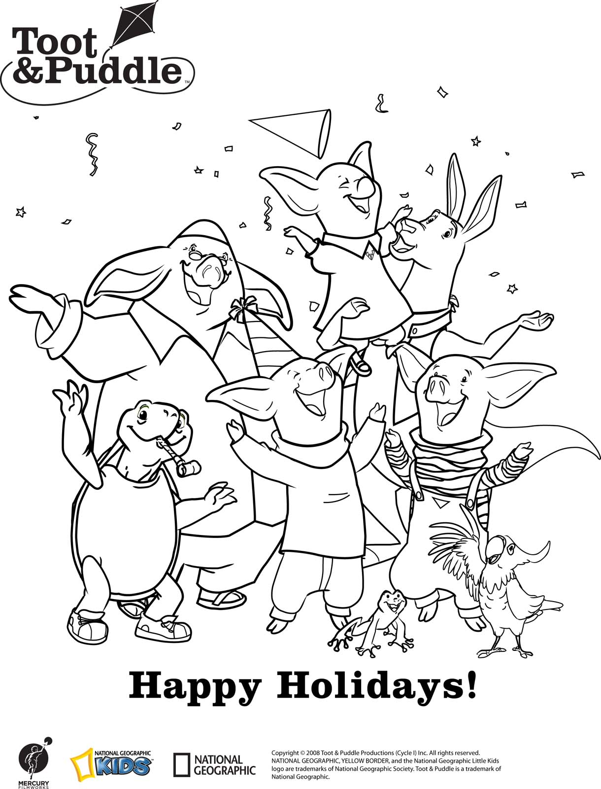 toot and puddles coloring pages - photo#23