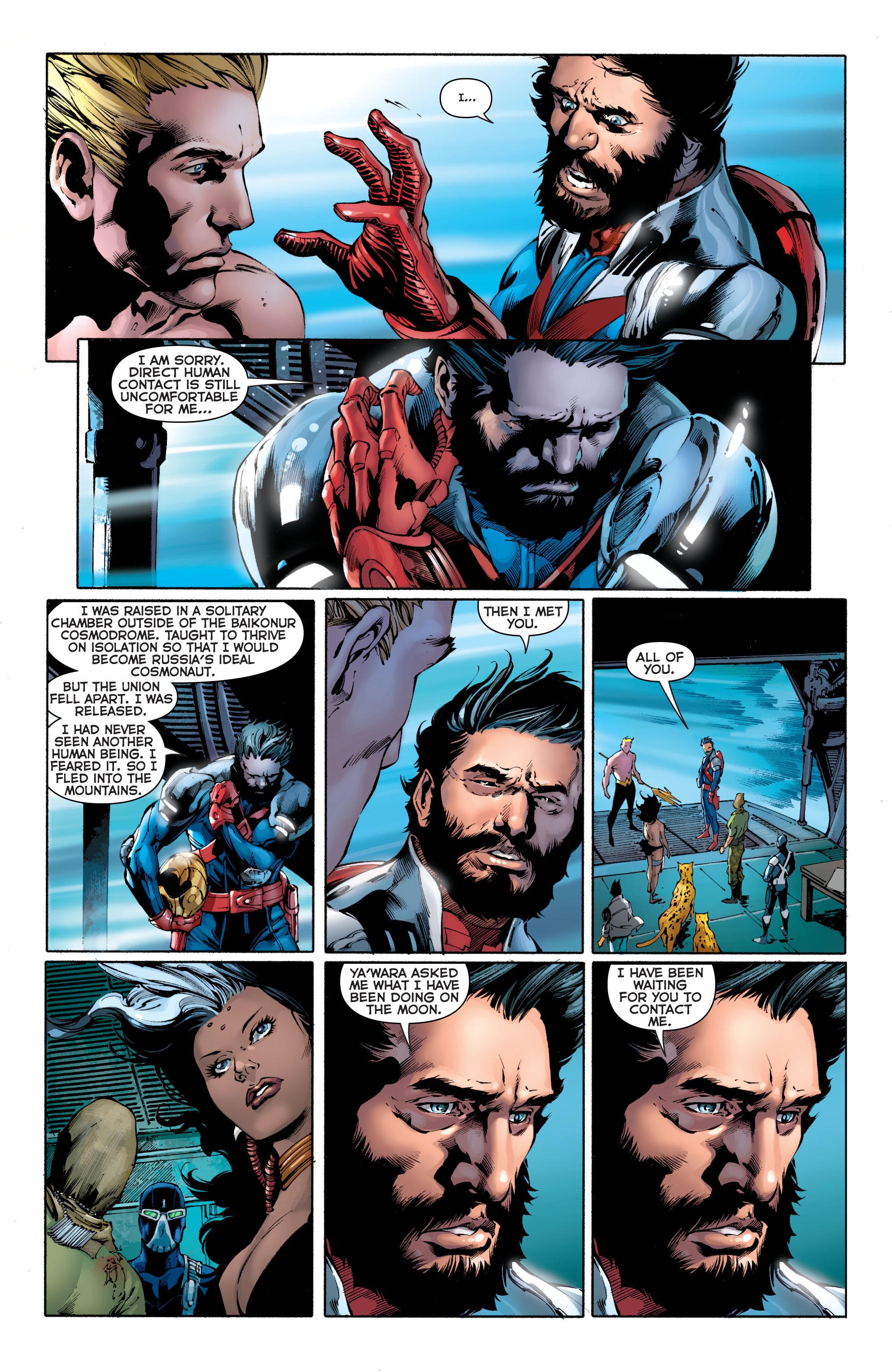 Read online Aquaman (2011) comic -  Issue #11 - 13