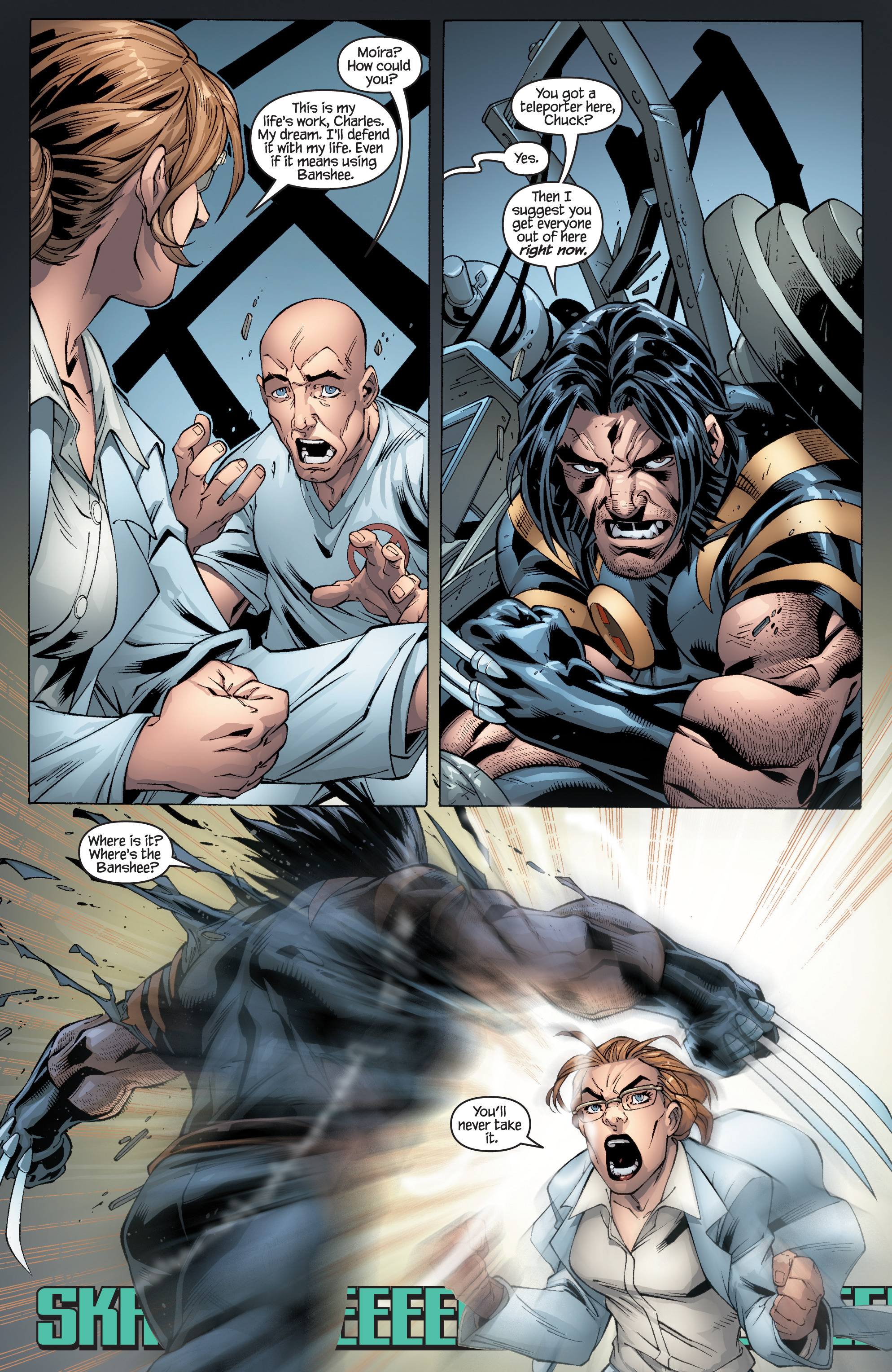 Read online Ultimate X-Men comic -  Issue #97 - 21
