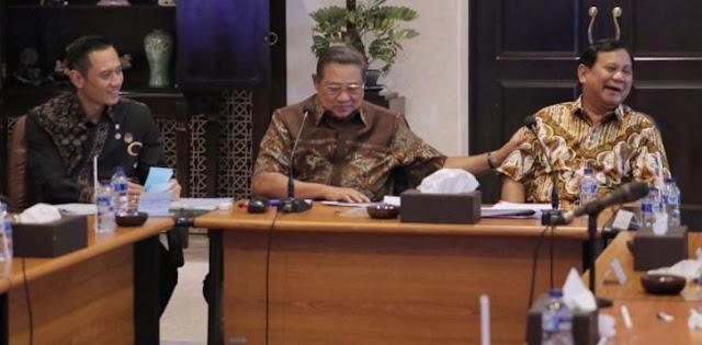 10 Tahun Indonesia Damai karena SBY dari Militer, Prabowo Subianto Sindir Jokowi?