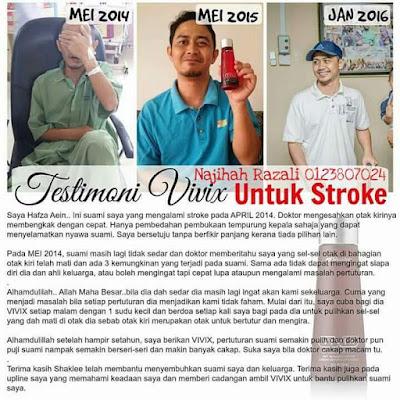 serangan stroke pertama