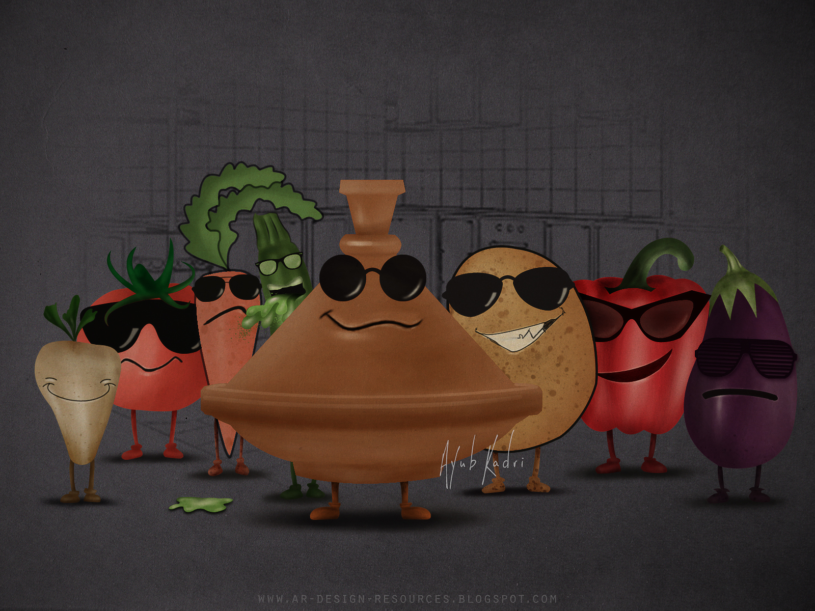 Tajine 7 vegetables
