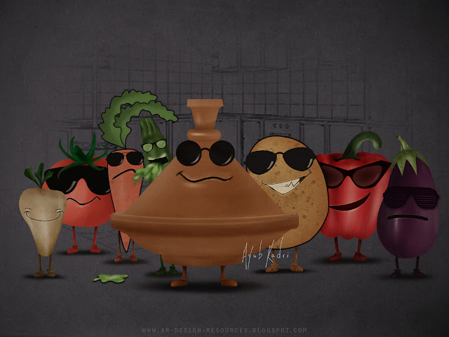 Tajine 7 vegetables