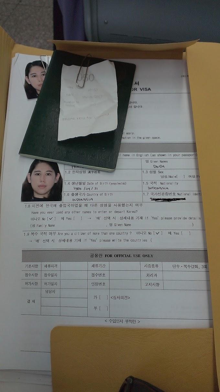 Pengalaman Apply VISA Korea Selatan