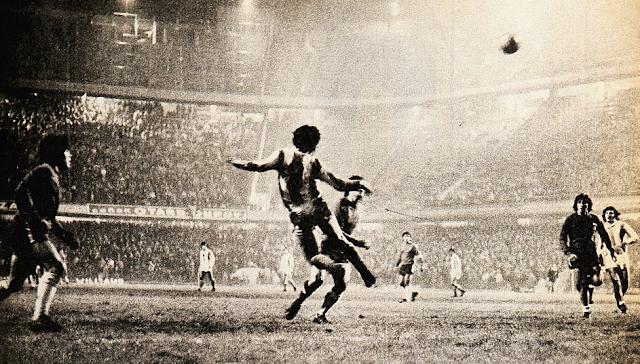 Argentina y Chile en Copa Carlos Dittborn 1973, partido de ida