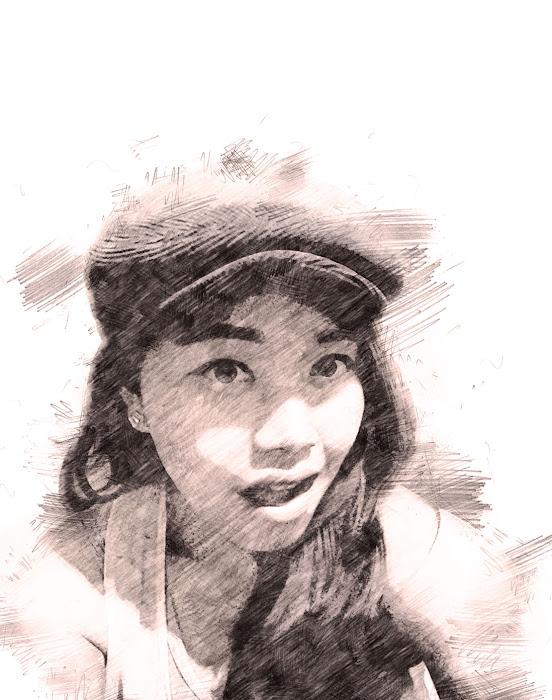 avril fumia aka fuji hastuti_play with sketch