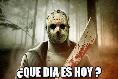 Jason, viernes 13, miedo, cuchillo, asesino, terror