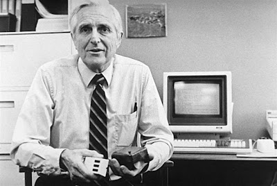 Douglas Engelbart, computers, mouse, technology, Internet