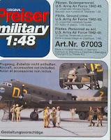 Figurine Preiser 1/48 USAF.