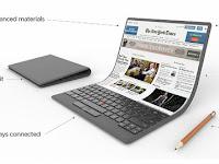 Lenovo Terbaru Layar Sentuh yang Bisa Ditekuk