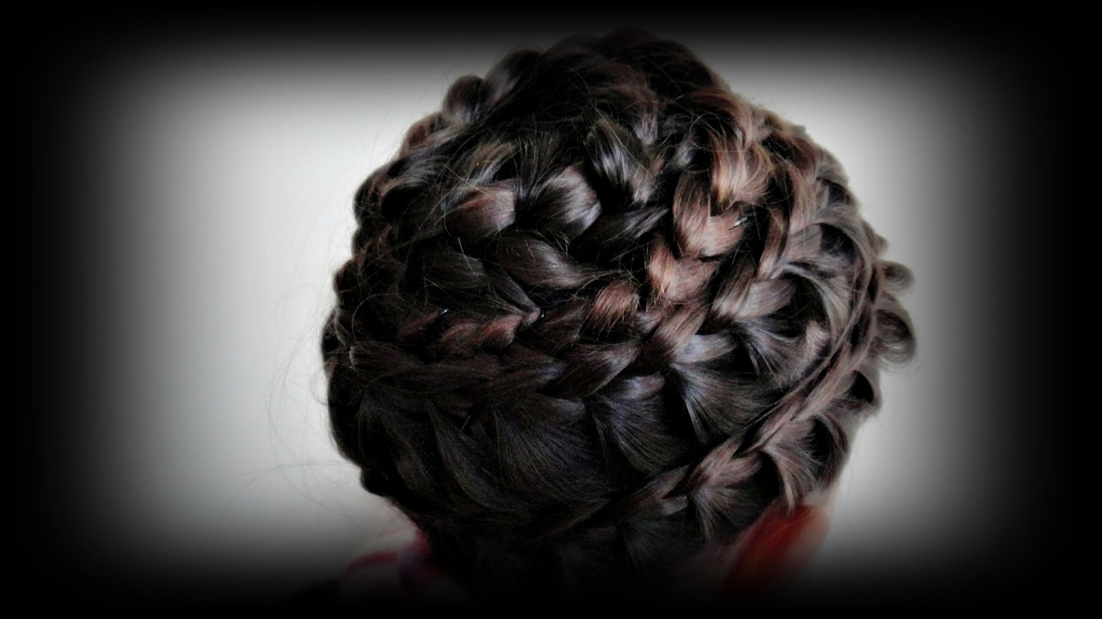 always smile~be a princess~love green: braided beehive
