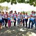 """Outubro Rosa: Sec. de saúde mobiliza equipe em dia """"D"""" em prol a conscientização contra o cânçer de mama"""