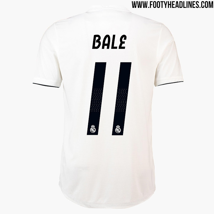 All New Extraordinary Real Madrid 18 19 Kit Font Released Footy