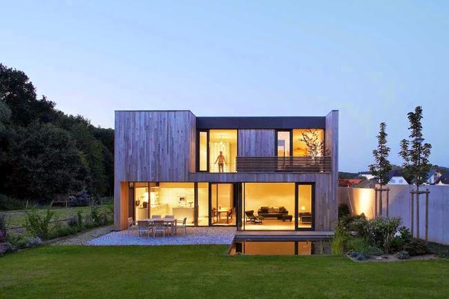 casas minimalistas y modernas casa cubo minimalista