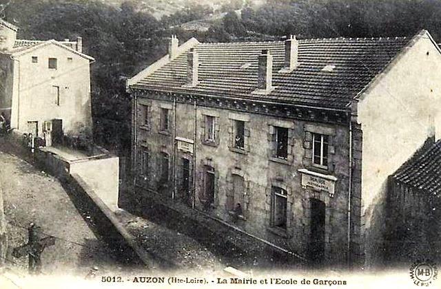 CPA Haute-Loire, école d'Auzon