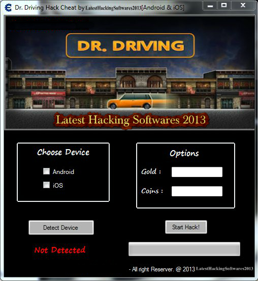 dr driving ios hack