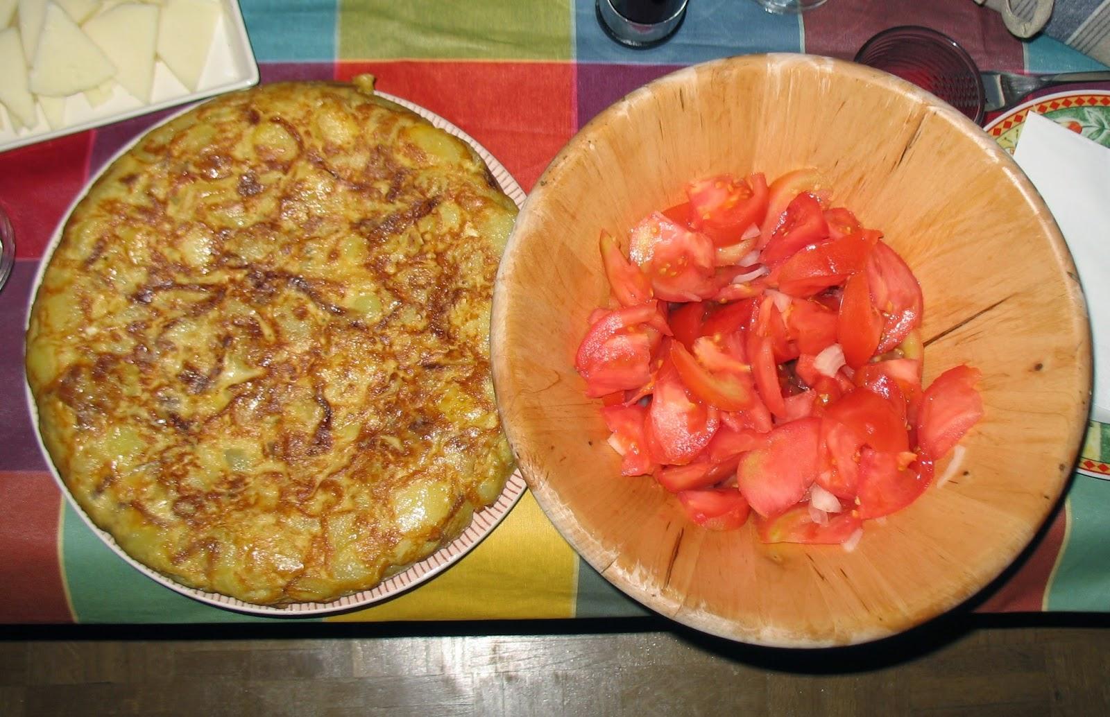 Nuestra tortilla de patata de imitación