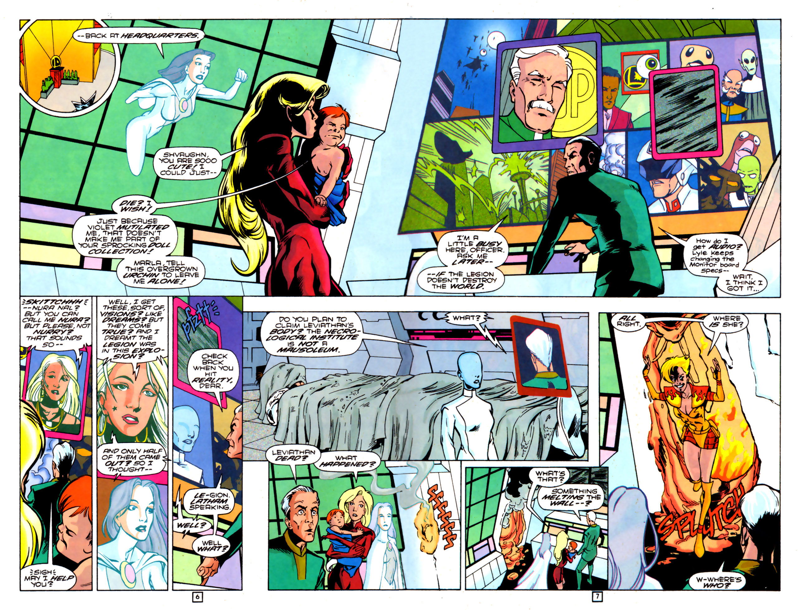 Legion of Super-Heroes (1989) 84 Page 5
