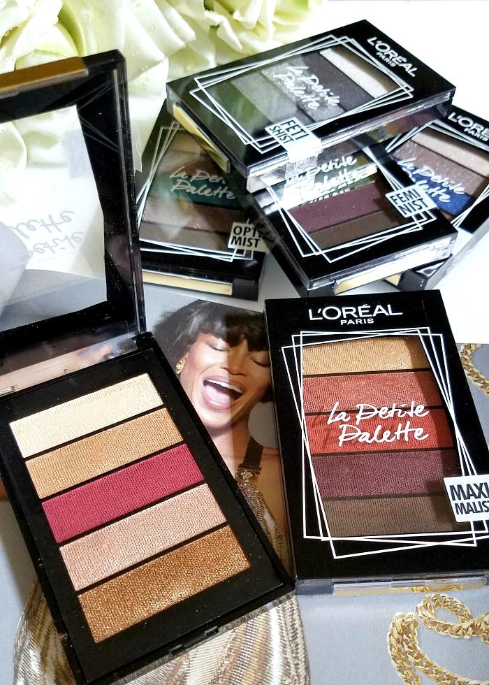 L´Oréal Paris - La Petite Mini Eyeshadow Palette - 4g - je 11.95 Euro - Review Swatches - Madame keke luxury beauty blog