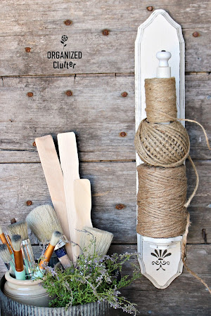Candle Sconce to Twine Holder