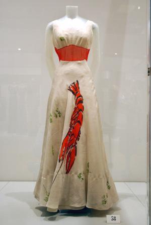 Designer Lobster Dress