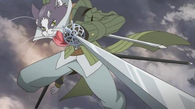 Nyanta [ Log Horizon ] - Karakter Player Anime Dalam Dunia Game Terkuat