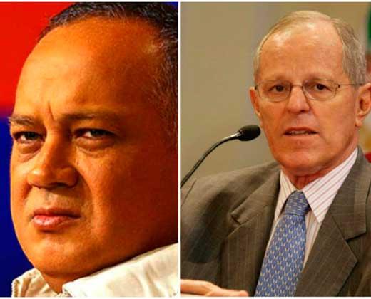 """""""No se meta en asuntos internos"""", lo que le dice Cabello a Kuczynski"""