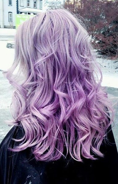 purple trendy hair goals