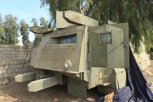 The Islamic State going DIY, the birth of the battle tram